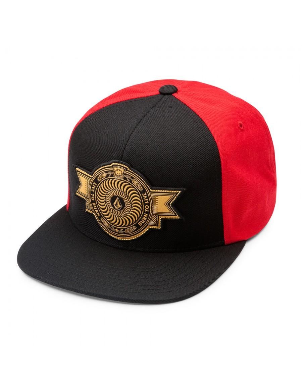 Volcom x Spitfire Snapback cap Drip Red