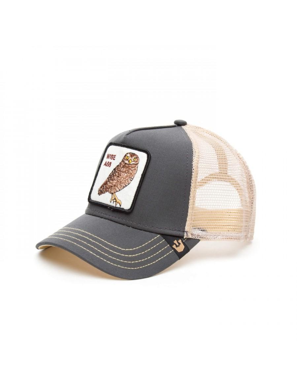 Goorin Bros. Owl Big Ass Trucker cap - Grey