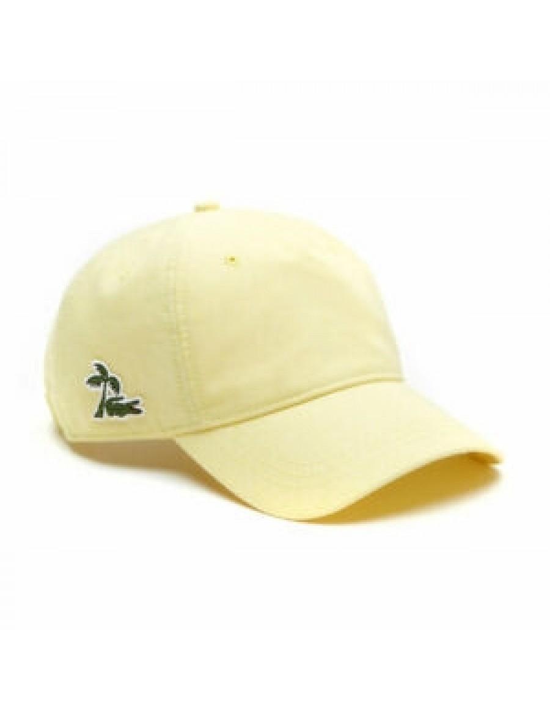 Lacoste Kappe - Palmtree - Gelb