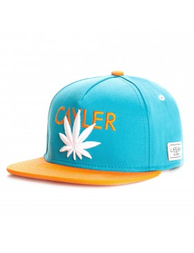 Cayler & Sons Cayler snapback Cap teal-orange