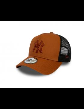 New Era Trucker kappe NY New York Yankees - Orange