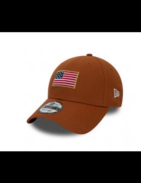 New Era Flagged 9Forty (940) USA - Orange