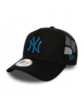 New Era League Essential AF Trucker cap NY Yankees - Blue on Black