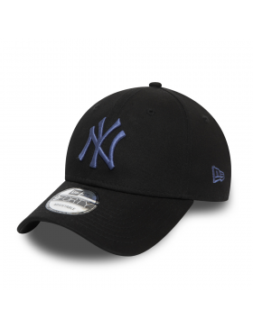 New Era 9Forty Colour Essential (940) NY Yankees - Black Blue