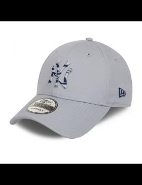 New Era 9Forty Camo Infill (940) NY Yankees - Gray