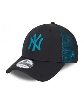 New Era 9Forty (940) Mesh Underlay NY Yankees - Black-Blue