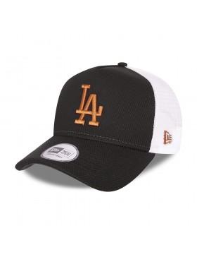 New Era Diamond Era Trucker cap LA Dodgers - Black Bronze