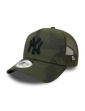 New Era Multi Camo Trucker cap NY Yankees - Green