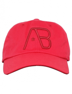 AB cap Twill Curved – Red