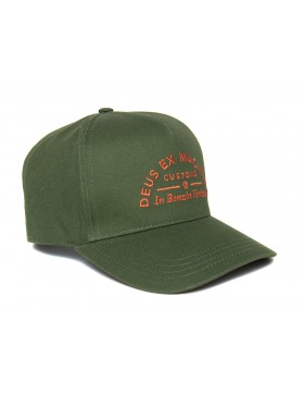 DEUS Benzin Trucker kappe - Hunter Green