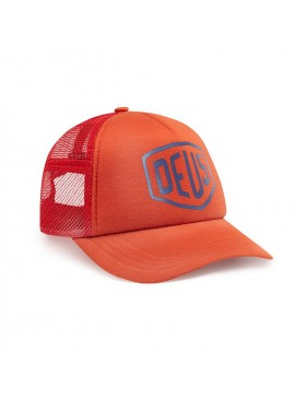 DEUS Sun Bleached Trucker kappe - Red Clay