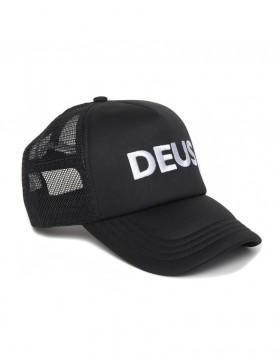 DEUS Caps Trucker kappe - Schwarz
