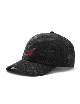 Cayler & Sons Rosewood - Curved dad cap - black