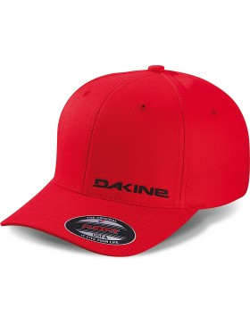 Dakine silicone rail flexfit cap - cardinal (red) - Sale