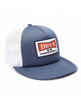 DEUS One Trucker Kappe - Blue