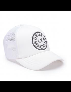 DEUS Circle Trucker kappe - Weiß
