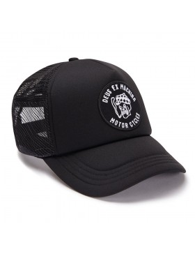 DEUS Kappe Smokey Trucker - black