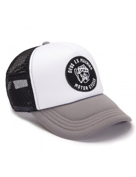 DEUS Kappe Smokey Trucker - grey