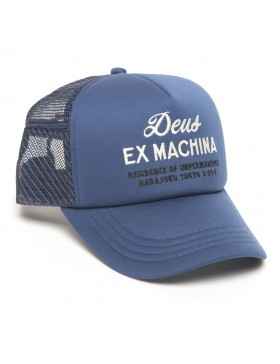 DEUS Kappe Trucker House - blue