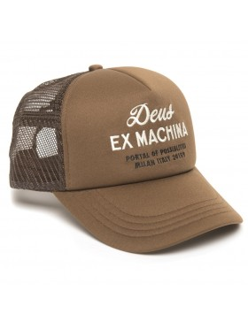 DEUS Kappe Trucker House - brown