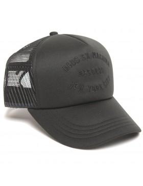 DEUS Kappe Trucker NYCITY - black