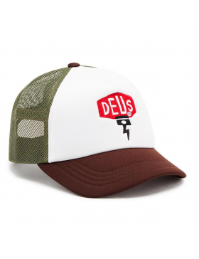 DEUS Piston Shield 2 Trucker kappe - Braun