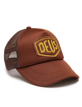 DEUS Trucker Kappe Felt Shield - brown