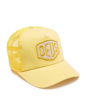 DEUS Trucker Kappe Foxtrot Shield - yellow