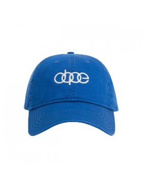DOPE Quattro Dad hat - blue