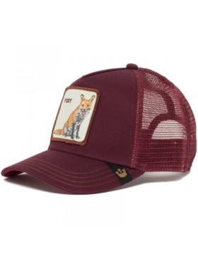Goorin Bros. Foxy Mama Trucker cap - Maroon