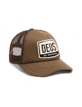 DEUS Moretown Trucker cap - French Roast