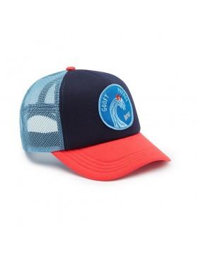 DEUS Friendly Waves Trucker kappe - Blau