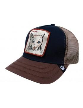 Goorin Bros. Cougar Trucker cap navy