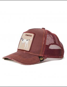 Goorin Bros. The Pointer Trucker cap -  Wine - Sale