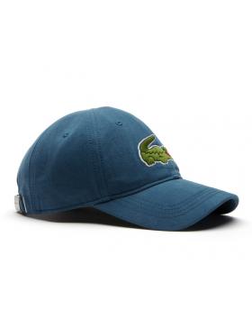 Lacoste Kappe - Big Croc Gabardine - legion blue