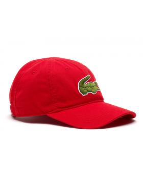 Lacoste Kappe - Big Croc Gabardine - rouge red