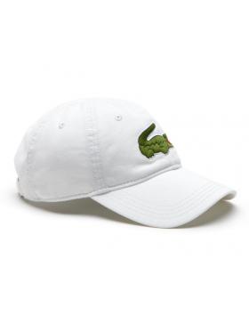 Lacoste Kappe - Big Croc Gabardine - white
