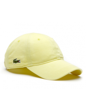 Lacoste Kappe - Gabardine cap - sulphur pit yellow