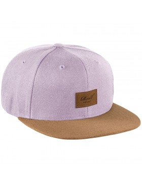 Reell 6 panel Suede cap Snapback Light Purple
