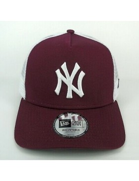 New Era Trucker kappe NY New York Yankees - Maroon