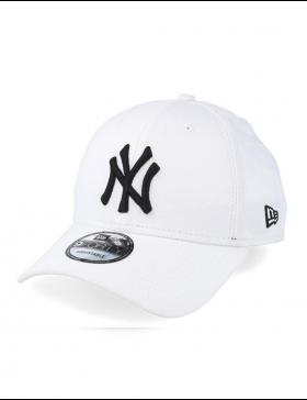 New Era 940 League Basic NY White Black