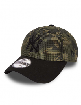 New Era 9Forty Mesh Overlay Camo (940) New York Yankees