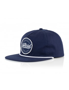 Official Cap Quise Snapback - navy