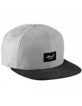 Reell 6 panel Suede cap Snapback Olive Grey