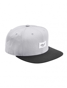 Reell 6 panel Pitchout snapback Blue grey - black