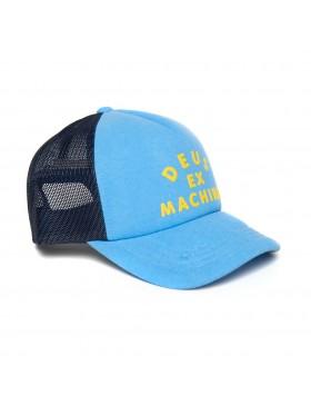 DEUS Roller Trucker kappe - Blau