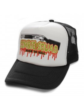 Toxico Zombie Kill trucker cap black -white - Sale