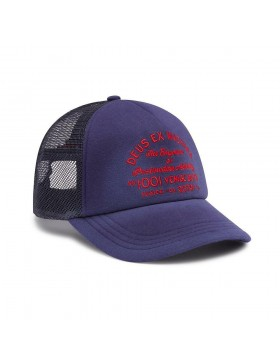 DEUS Bleached Venice Trucker kappe - Estate Blue