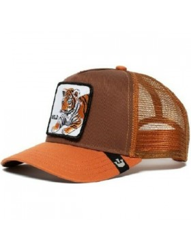 Goorin Bros. KIDS Wild Tiger Trucker Cap - Brown
