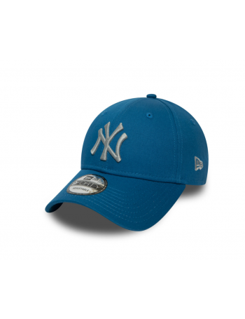 New Era 9Forty League Essential (940) NY Yankees - Blue/Silver